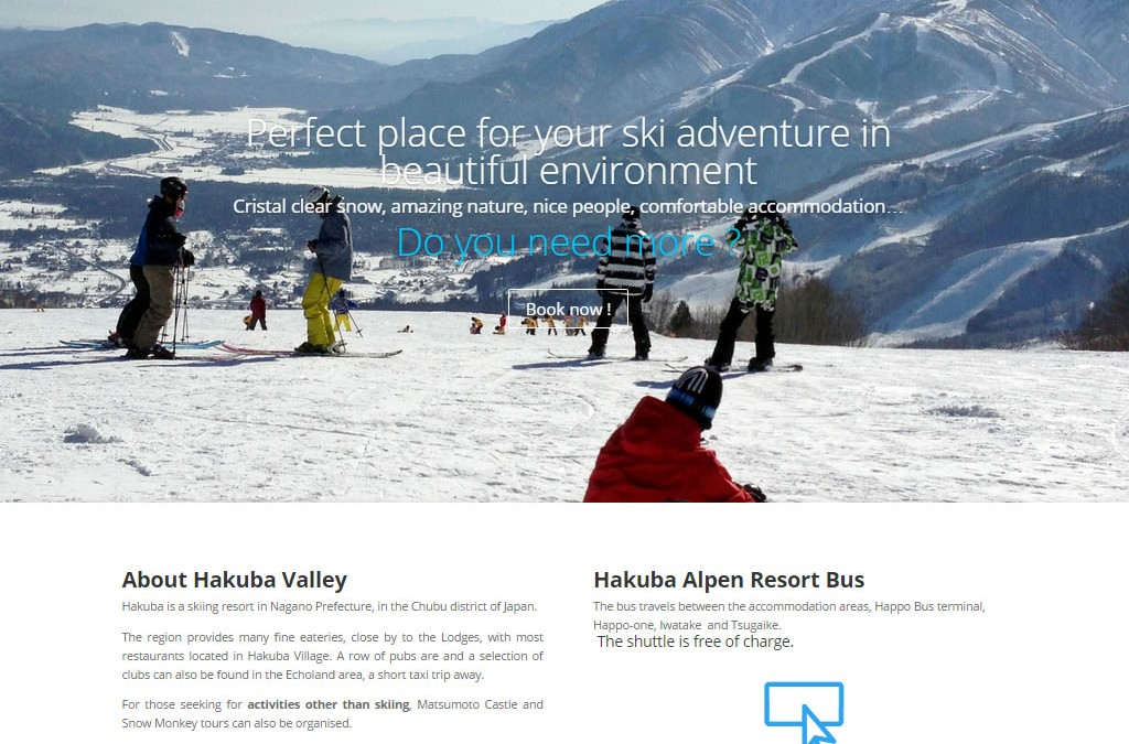 Hakuba Landmark – Japan